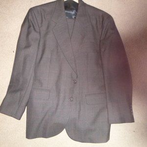 Today's Man Brookcraft 2 Button Brown Suit 42S W36